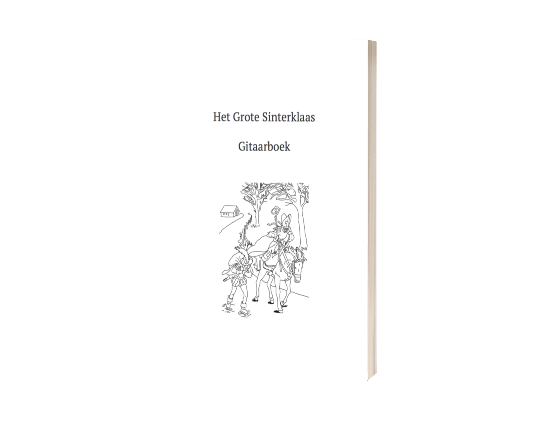 Sinterklaasliedjes gitaarboek e-book €9,95